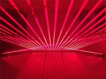 Лазерный луч «8 глаз», медленная движущаяся головка, 8 лазерных ламп для глаз, полноцветный свет, красный, зеленый, RGB, цветной луч, лазерный пр...