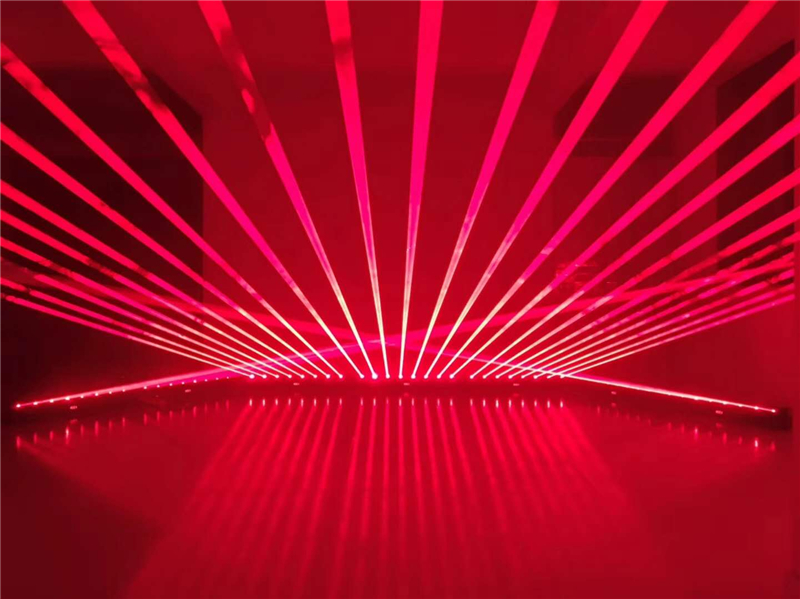 Bar Eight Eyes Laser Light Slow Moving Head 8 Eye Laser Lights Full Color Light Show Red Green RGB Color Beam Laser Projector