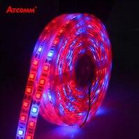 5 M LED Phyto Lamps Full Spectrum LED Strip Light 300 LEDs 5050 Chip LED Fitolampy