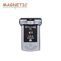1 חתיכה מחסנית דיו תואם עבור Canon PG40 CL41 CL 41 PIXMA iP1600 iP1200 iP1900 MX300 MX310 MP160 MP140 MP150 מדפסת