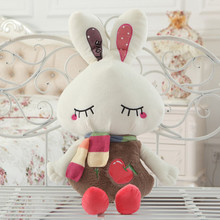 cute love rabbit doll plush toy rabbit doll 90cm  soft throw pillow , birthday gift  x091