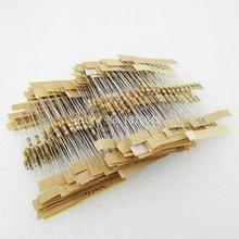500 шт./лот 1/4 Вт 0.25 Вт 5% углерода Плёнки Резистор Комплект 50 Значения Ассортимент пакет смеси выбор 1 ohm-10m Ом 50 значения каждый 10 шт.