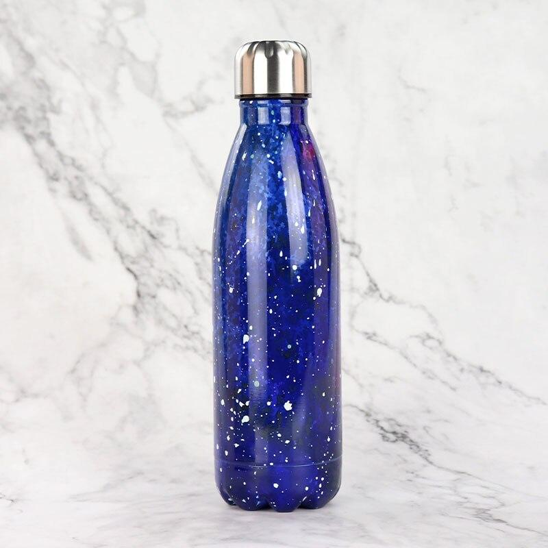 Flacons sous vide de bouteille de Cola faits sur commande gratuits 500ML tasse de Thermos d'acier inoxydable Sports de plein air tasse de Coke bouteille d'eau potable K13