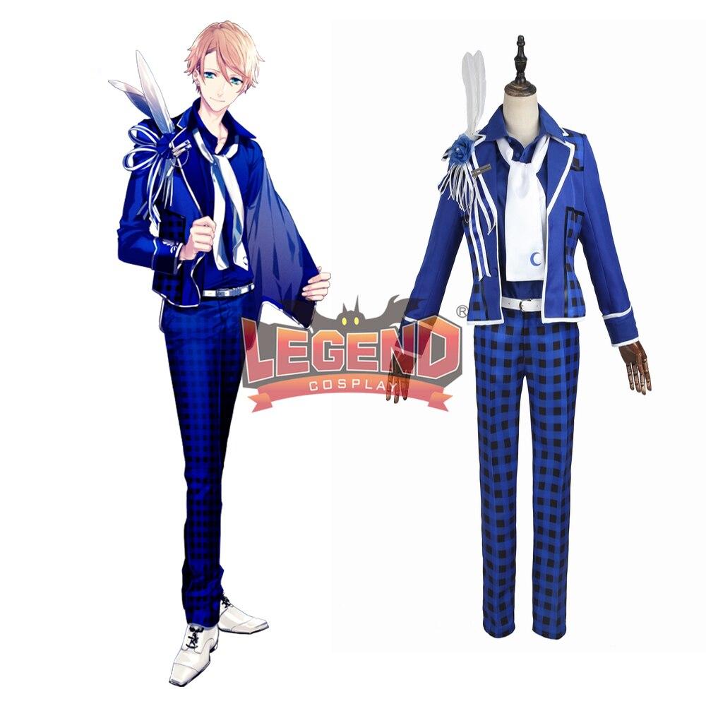 Anime B-project Kodou Ambitious MooNs Masunaga Kazuna Cosplay Costume Coat adult costume halloween costume custom made full set
