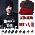 Bboy 2015 новинка марка зима мужская harajuku шерсть вязаная шапка хип-хоп очередь головкой спортивных beanies больше цвета бесплатная доставка