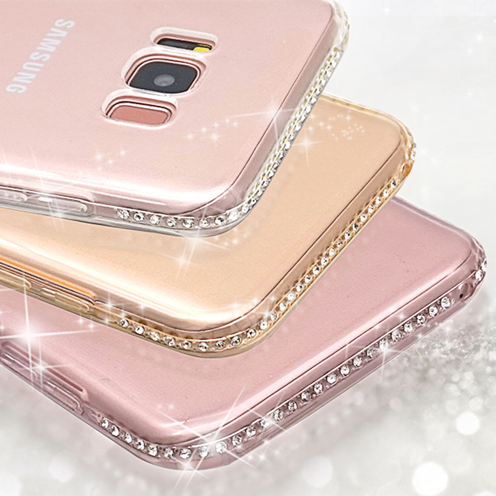 Ascromy Glitter Case For Samsung Galaxy S8 Plus Note 4 5 S6 S7 edge A3 A5 2017 A7 J3 J5 2016 J7 S9 Cover Silicone Accessories