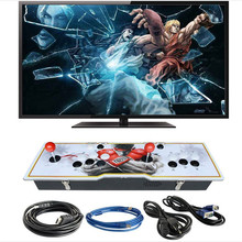 Marwey high definition game console 999 games 2 players acrylic board metal box video joystick VGA USB output support TV PC