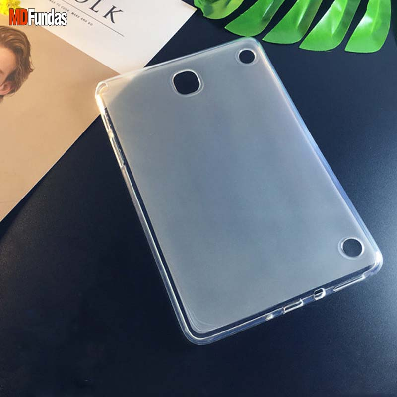 MDFUNDAS Ultrathin Lightweight Translucent Soft TPU Fundas Shell For Samsung Galaxy Tab A 8.0 T350 T355 P350 P355 Case x line soft silicone rubber tpu case back cover skin shell for for samsung galaxy tab a 8 0 inch t350 t351 t355 case