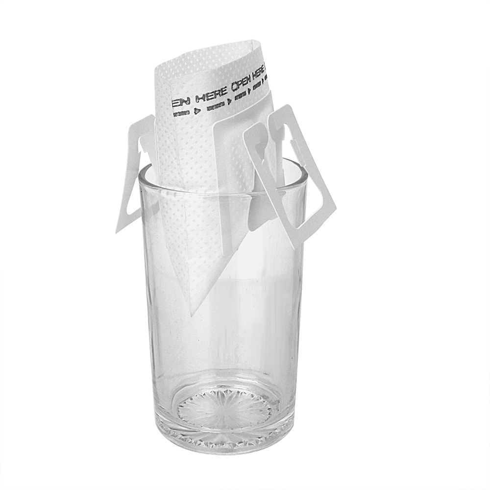 NICEYARD 50Pcs/Bag Hanging Ear Style Coffeeware Tea Bag Strainer Coffee Filters Paper Drip Coffee Filter Bag Green Tea Infuser