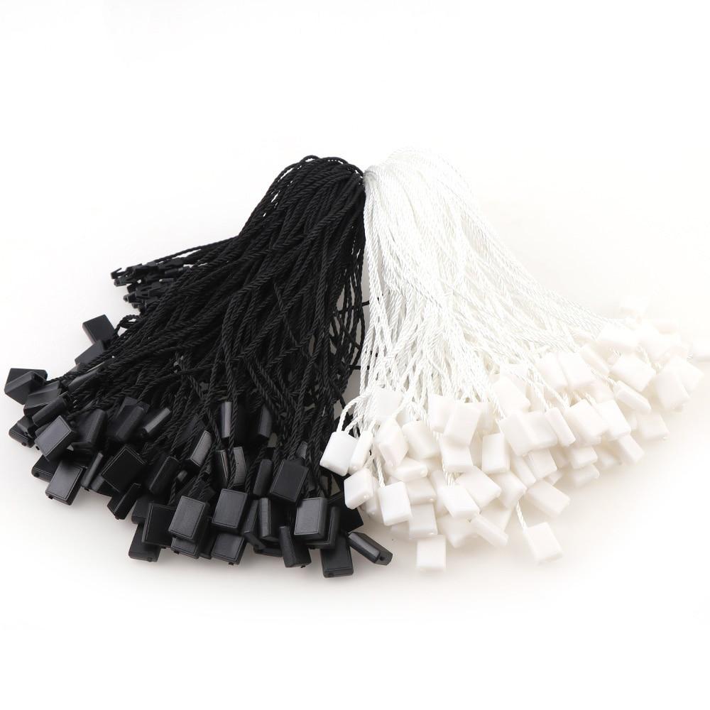 100 шт квадратные полиэфирные веревочные шнуры, Висячие планшеты для одежды, сумки, бирки, карты, аксессуары для одежды DIY