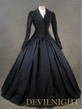Black Jacket Winter Gothic Victorian Costume Dress Gothic Victorian Dress Patterns