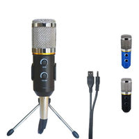 2016 New MK F200FL Wired Audio Sound Recording Condenser Microphone Shock Mount Holder Clip With Locking