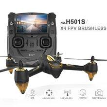 H501S Xiangtat Asli Hubsan X4 RC Drone Dengan 1080 P HD kamera 5.8G FPV RC Quadcopter dengan GPS Ikuti Saya Otomatis kembali