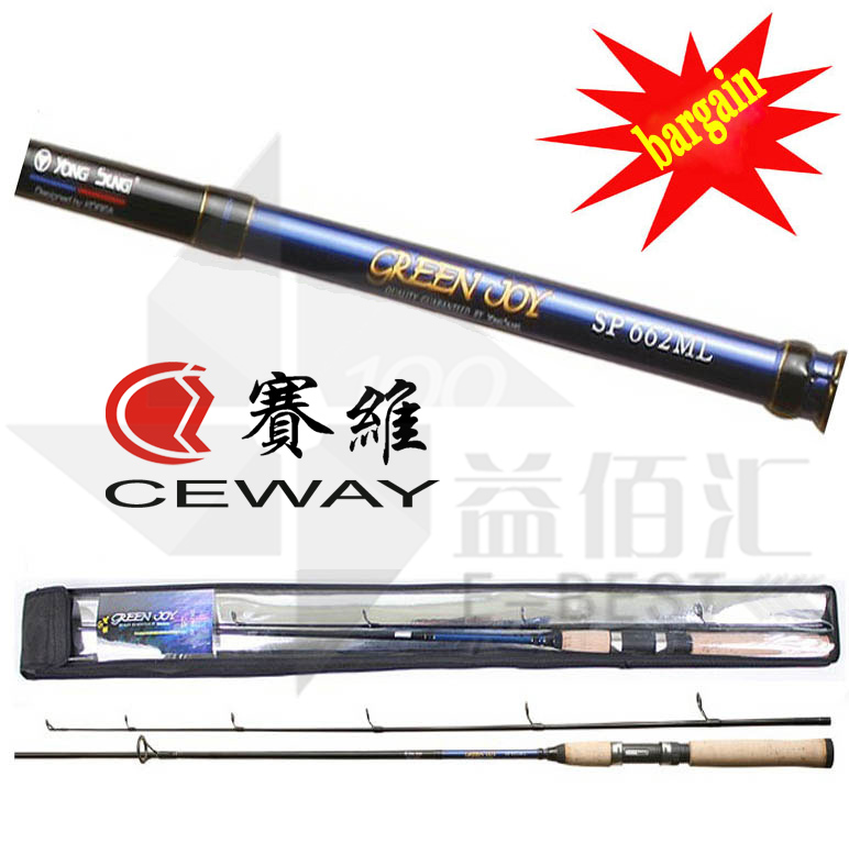 Carbon Fiber Poles Lure Fishing Rods CEWAY GREEN JOY Spinning Rod High Carbon Pole Light Cork Grip Fish Tackle FREE SHIPPING carbon boat fishing rods telescopic trolling rod ultra hard troll jigging pole fish tackle poles 2 7m 3m 3 6m 3 9m free shipping