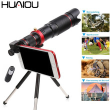 2019 New 36X Mobile Phone Camera Telephoto Zoom Lens HD Monocular Telescope Lens Tripod With Remote Shutter For All Smartphones