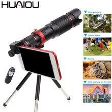 2019 neue 36X Handy Kamera Tele Zoom Objektiv HD Monokulare Teleskop Objektiv Stativ Mit Fernauslöser Für Alle Smartphones