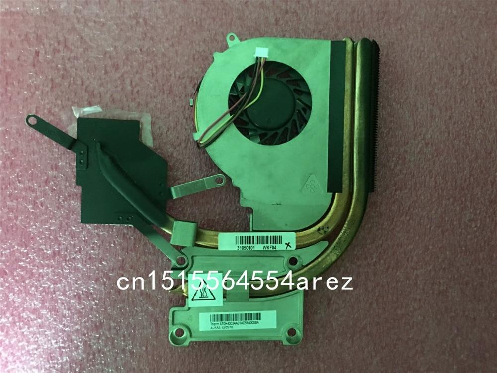 купить Original laptop Lenovo G770 G780 CPU Cooling Fan, Heatsink Assembly Radiator Cooler 31050101 по цене 1187.76 рублей