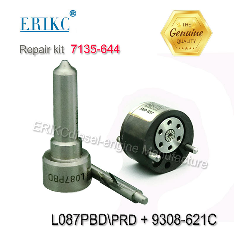EJBR01701Z EJBR04101D Injector Overhaul Kit 7135-644 Nozzle L087PRD L087PBD Valve 9308-621C for EJBR02101Z EJBR01401Z EJBR01201Z