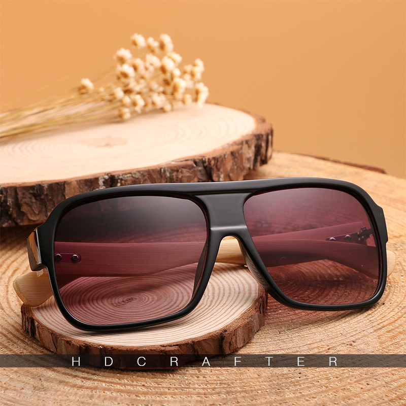 HDCRAFTER Bamboo Men Sunglasses 14