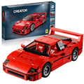Bela 10567 F40 Sports Car Model Building Blocks Bricks Toys for children Car Racers Gift Lepin Technic 21004 Decool 10248