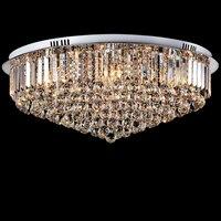 Led e14 Kristal Paslanmaz Çelik Dim LED Lambası. LED Işık. Tavan Işıkları. LED Tavan Işık. Tavan Fuaye Yatak Odası Salon Için lamba