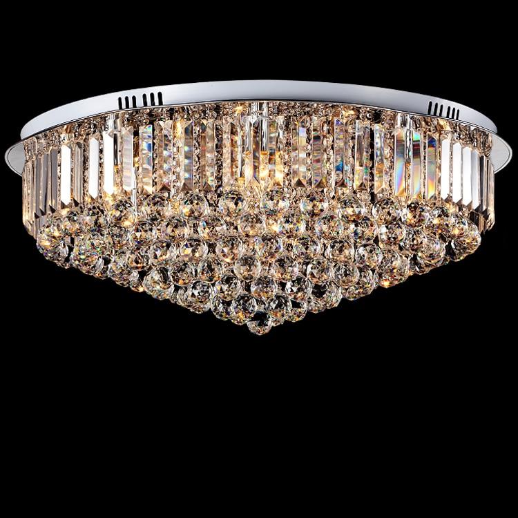 Decke Lichter Led Decke Licht Decke Lampe Für Foyer Led E14 Postmodernen Eisen Kristall Stoff Chrome Led Lampe Led Licht
