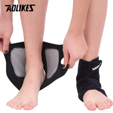 AOLIKES 1 Pair Self-heating Tourmaline Magnet Ankle Support Brace Sport Safety Foot Injury Protector Winter Warm Heath Care