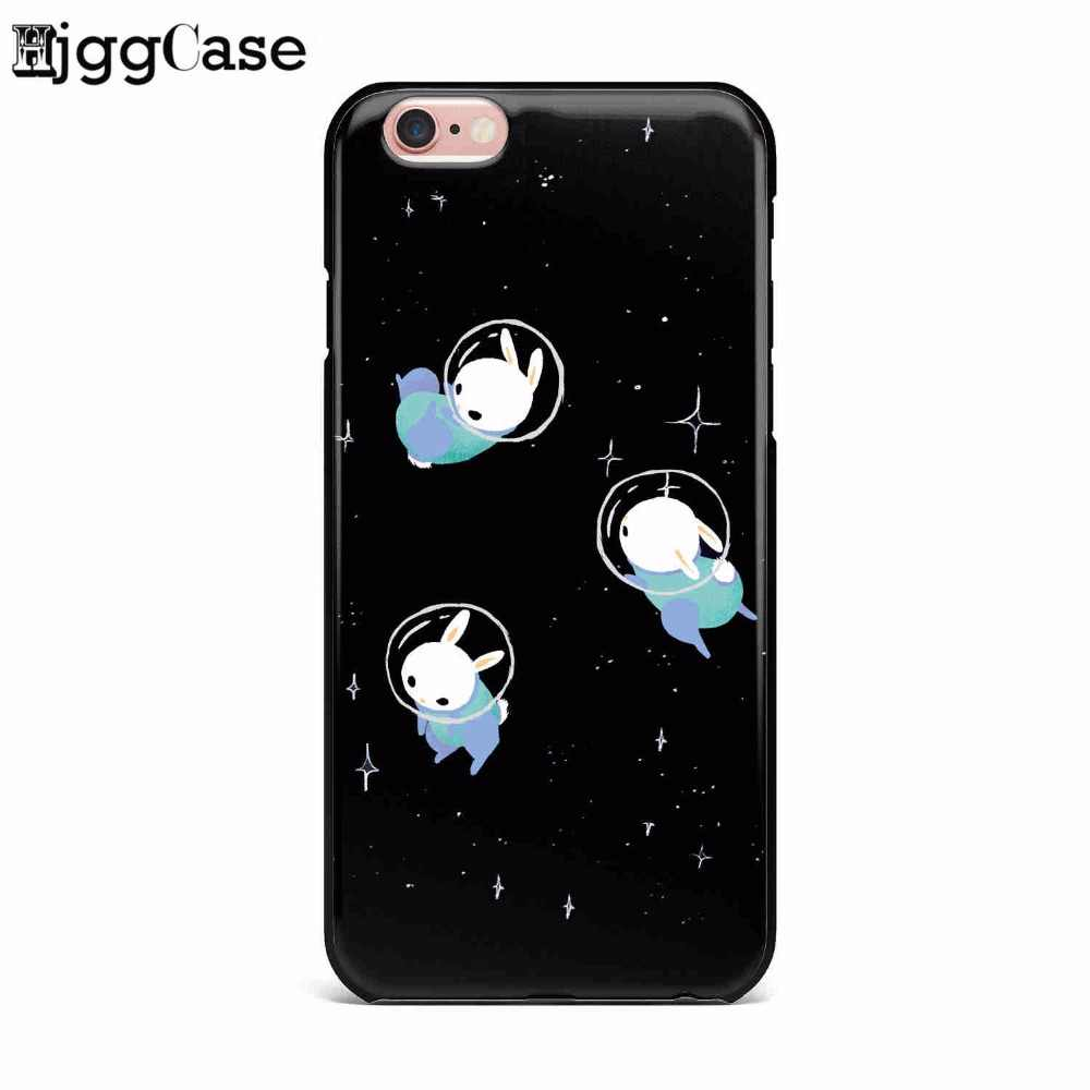 Черная девочка Луна Звезды Космос астронавт ТПУ Мягкий силиконовый чехол для телефона чехол для iPhone 5 5S SE 6 6 S Plus 7 7 Plus 8 8 Plus X 10 чехол