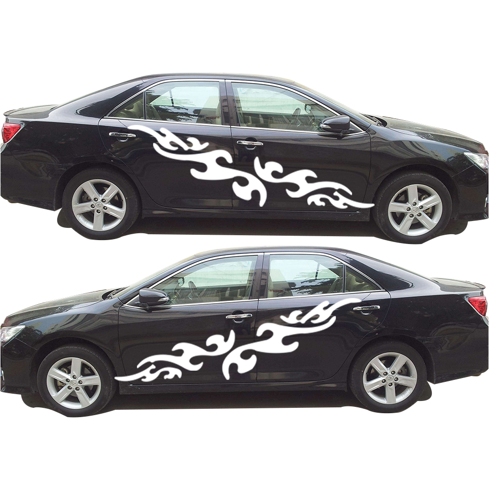 For Toyota Camry Decorative Diy stickers Car Styling Accessories Car Body Waterproof Decals Sticker Car Scratch Cover toyota camry