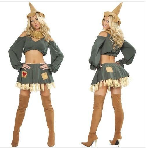 De las mujeres atractivas asistente de Oz espantapájaros disfraz de ...