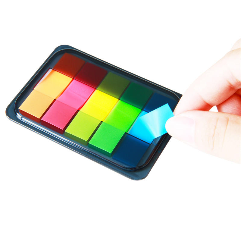 3 Piece/Lot Page Markers Sticky Notes Pad Fluorescence Color Stick Markers Book Page Index Flag Sticky Notes Post It 30 Sheets heat pad page 8