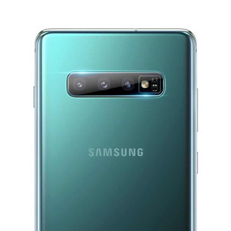 Vidro temperado para samsung galaxy, s10 plus s10e a71 a51 a50 a20 a10 a30 a70, lente da câmera traseira protetor de vidro
