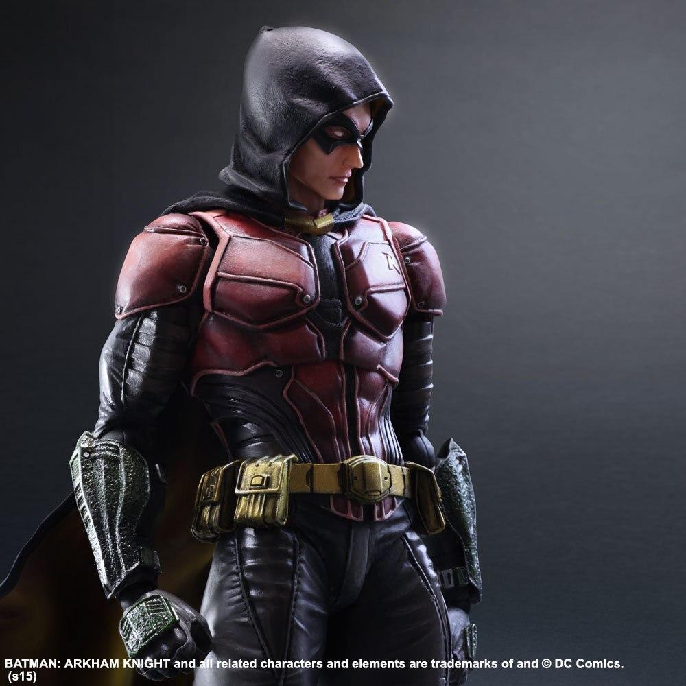 Playarts KAI Figure Batman Arkham Knight NO 2 Robin Figurine Jouet 25 cmPlayarts KAI Figure Batman Arkham Knight NO 2 Robin Figurine Jouet 25 cm