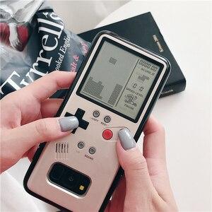 Image 2 - サムスンギャラクシーS8 S9 プラスケースレトロゲームボーイテトリス電話ケース再生ゲームコンソールカバー装着しsiliconen携帯シェルケース