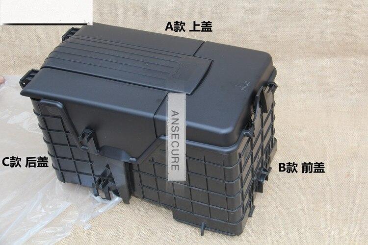 oem battery shething montagem capa poeira despeje bandeja guarnicao capa para vw jetta golf mk5 mk6