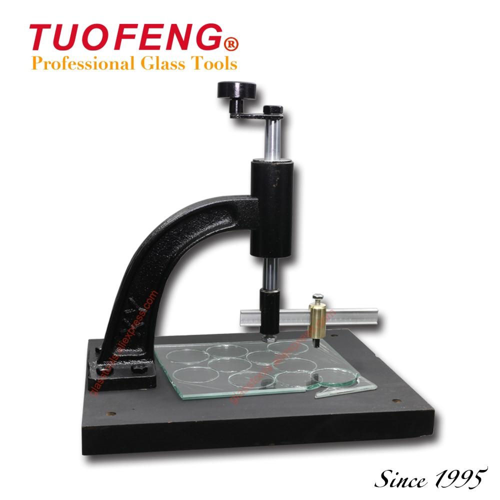 Molatura Vetro Fai Da Te us $80.0  tuofeng cerchio tavola della macchina di taglio del vetro per la  gamma di diametro 50 millimetri ~ 200 millimetri di taglio circolare uso