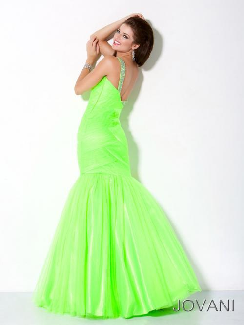 Special Wholesale Mermaid Green One Shoulder Evening Dress Night Dress  Models(EVJO 1009)-in Evening Dresses from Weddings   Events on  Aliexpress.com ... ec43a6f9e