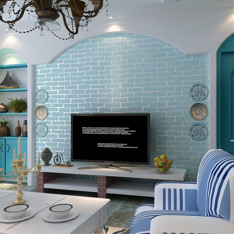 wallpaper-3d for Blue walls