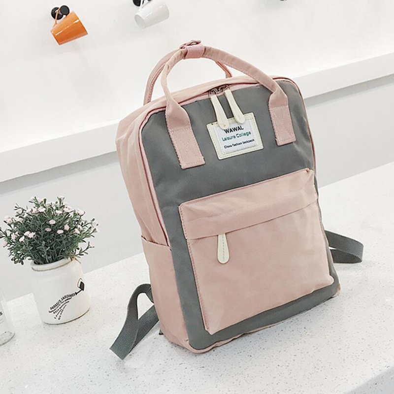 HTB12HH0KeGSBuNjSspbq6AiipXa1 Yogodlns Campus Women Backpack School Bag for Teenagers College Canvas Female Bagpack 15inch Laptop Back Packs Bolsas Mochila