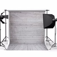 5x7ft Wood Wall Floor Studio Prop Photography Vinyl Background Photo Backdrop New High Quality Special Offer