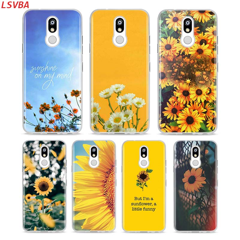 Soft Silicone Case Sunfowers fantasy show For LG K40 V50 V40 V35 V30 V20 Q8S Q7 Q6 G8 G7 G6 G5 ThinQ Phone Shell image
