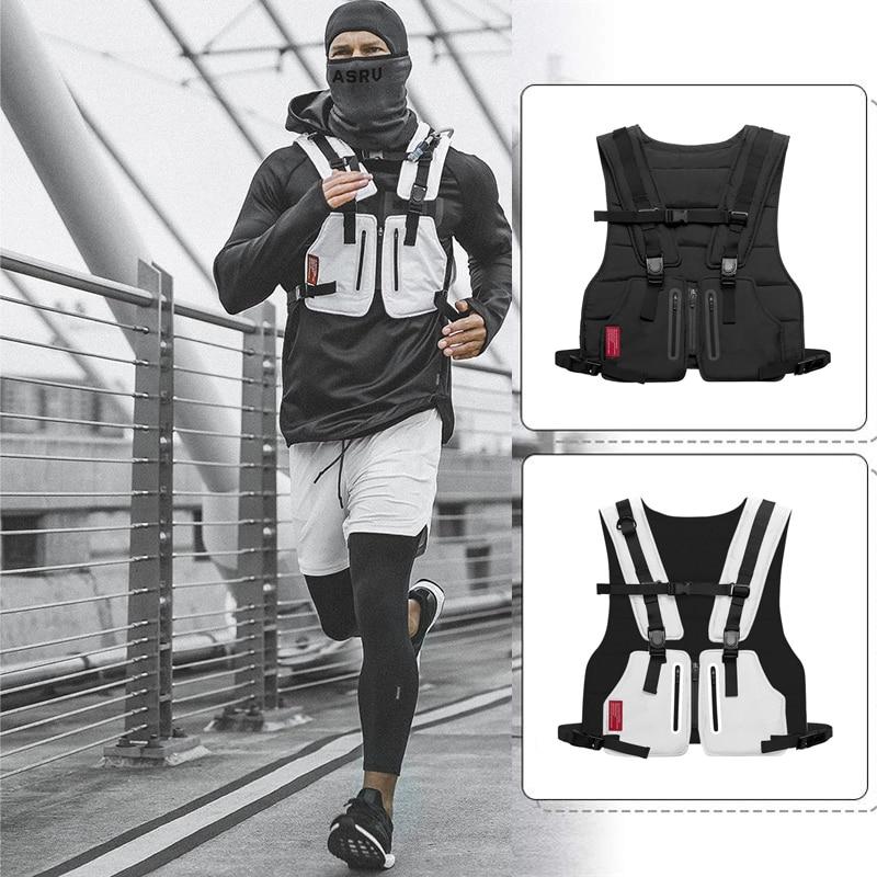 Multi-function Tactical Vest Outdoor Sports Fitness Men Protective   Tops   Vest