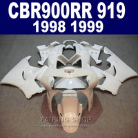 white cbr900rr919 98 99 Fairings For Honda cbr 900rr 919 1999 1998 Fairing kit ( CUSTOM FREE ) CN77