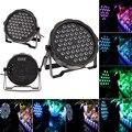 EU Plug DiSCO LAMP 30W AC85-265V Led Par Light DJ Light DMX Led RGBW Stage Light Home Party Lights For Entertainment