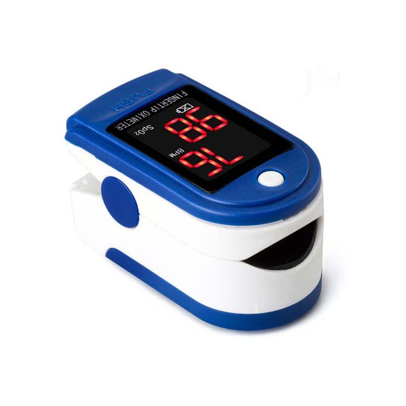 Digital Fingertip Pulse Oximeter Oximetro Finger Pulse Oximeter Blood Oxygen Saturation Monitor Health Care CCP009 lson fingertip pulse oximeter