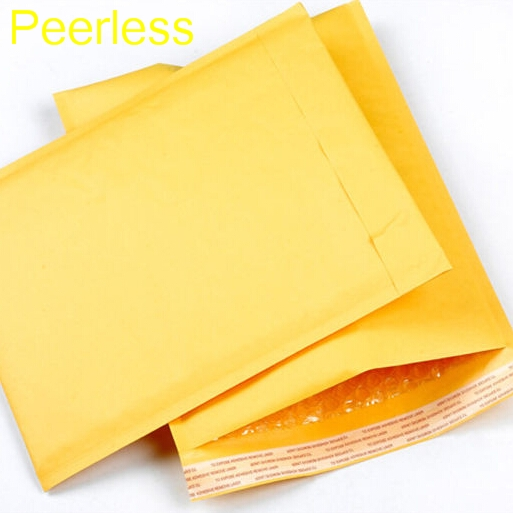 130*230mm 10pcs/lots Professional Bubble Mailers Padded Envelopes Packaging Bags Kraft Bubble Mailing Envelope Bags Peerless