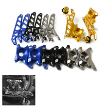 Left & Right CNC Aluminum Rear Wheel Axle Stand Pick Up Hook Set For Yamaha FZ MT 07 FZ07 MT07 FZ-07 MT-07 2014-2017