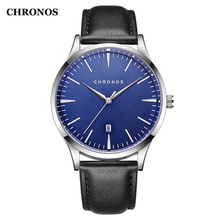 hot deal buy chronos men watches luxury business men's watches male date clock fashion quartz watch relogio masculino