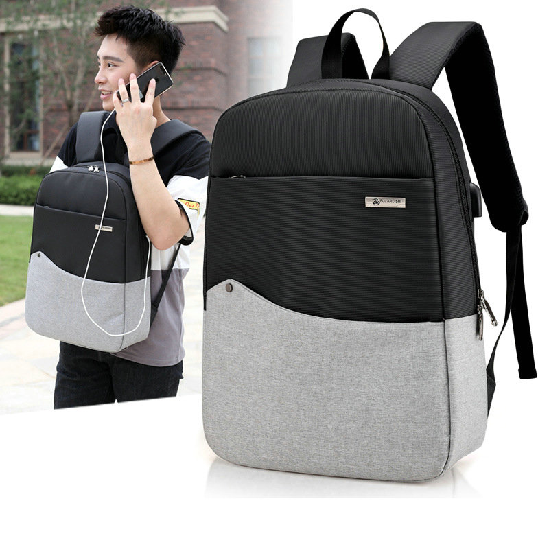 Anti Theft Backpack USB Charging Men Laptop Backpack Casual Business Backpack Women Computer Rucksack Travel Bag tuguan notebook bag external usb anti theft charging waterproof laptop backpack for men and women business travel computer bag