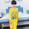 5-14years winter 2016 new fashion children pajamas flannel warm boys girls winter pajama sets Loungewear Girls Nightwear pijama